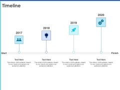 Proposal Template For Accounting Services Timeline Ppt Layouts Information PDF