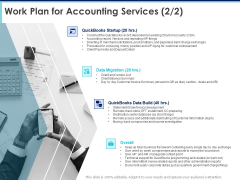 Proposal Template For Accounting Services Work Plan For Accounting Services Business Ppt Professional Layout PDF