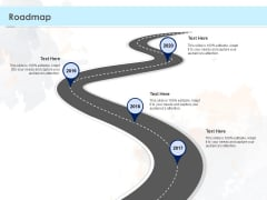 Proposal Template For Concrete Supplier Service Roadmap Ppt PowerPoint Presentation Inspiration Smartart PDF