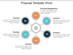 Proposal Template Word Ppt PowerPoint Presentation Slides Model Cpb