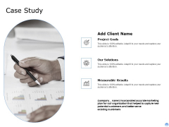 Proposal To Brand Company Professional Services Case Study Clipart PDF