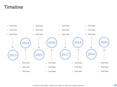 Proposal To Brand Company Professional Services Timeline Background PDF