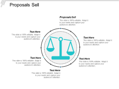 Proposals Sell Ppt PowerPoint Presentation Model Deck Cpb