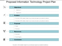 Proposed Information Technology Project Plan Ppt Powerpoint Presentation Model Picture