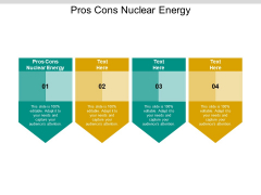Pros Cons Nuclear Energy Ppt PowerPoint Presentation Gallery Sample Cpb Pdf