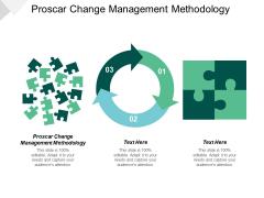 Proscar Change Management Methodology Ppt PowerPoint Presentation Outline Summary Cpb