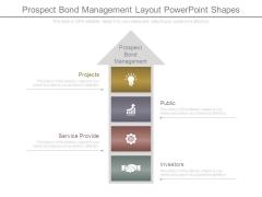 Prospect Bond Management Layout Powerpoint Shapes