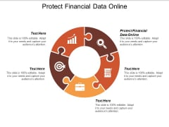 Protect Financial Data Online Ppt PowerPoint Presentation Ideas Graphics