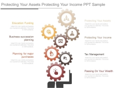 Protecting Your Assets Protecting Your Income Ppt Sample