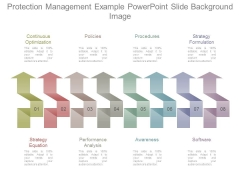 Protection Management Example Powerpoint Slide Background Image