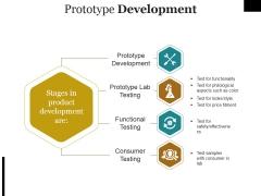 Prototype Development Ppt PowerPoint Presentation Portfolio Model