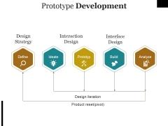 Prototype Development Template Ppt PowerPoint Presentation Outline Microsoft