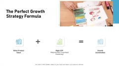 Proven Ways Of Quickly Growing A Small Business The Perfect Growth Strategy Formula Mockup PDF