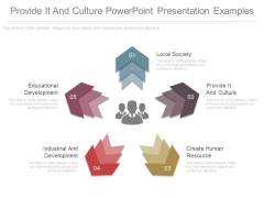 Provide It And Culture Powerpoint Presentation Examples