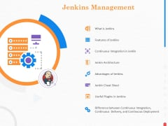 Providing Continuous Deployment With Jenkins Jenkins Management Ppt Show Graphic Images PDF