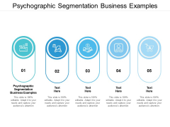 Psychographic Segmentation Business Examples Ppt PowerPoint Presentation Styles Diagrams Cpb