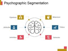Psychographic Segmentation Ppt PowerPoint Presentation Example 2015