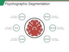 Psychographic Segmentation Ppt PowerPoint Presentation Slides Files
