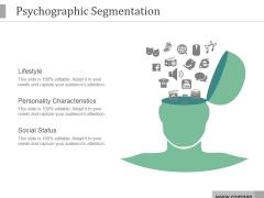 Psychographic Segmentation Ppt PowerPoint Presentation Styles