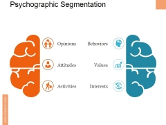 Psychographic Segmentation Ppt PowerPoint Presentation Summary Slides