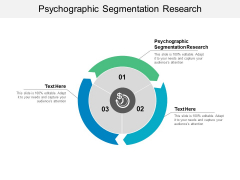 Psychographic Segmentation Research Ppt PowerPoint Presentation Layouts Smartart Cpb