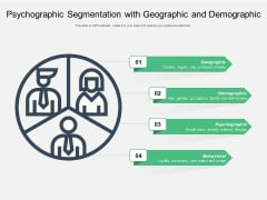 Psychographic Segmentation With Geographic And Demographic Ppt PowerPoint Presentation File Background Image PDF