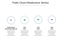 Public Cloud Infrastructure Service Ppt PowerPoint Presentation Icon Deck Cpb