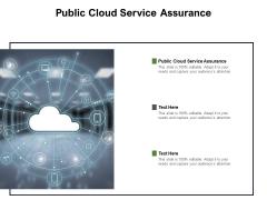 Public Cloud Service Assurance Ppt PowerPoint Presentation Inspiration Visuals Cpb Pdf