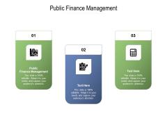 Public Finance Management Ppt PowerPoint Presentation Infographics Samples Cpb Pdf
