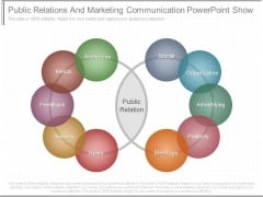 Public Relations And Marketing Communication Powerpoint Show