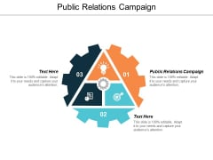 Public Relations Campaign Ppt PowerPoint Presentation File Tips Cpb