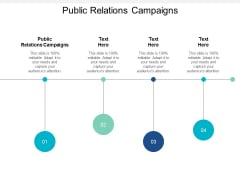 Public Relations Campaigns Ppt Powerpoint Presentation Portfolio Layouts Cpb