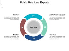 Public Relations Experts Ppt Powerpoint Presentation Influencers Cpb