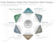 Public Relations Media Plan Powerpoint Slide Designs