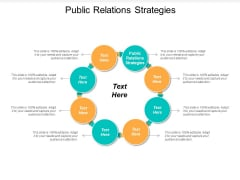 Public Relations Strategies Ppt Powerpoint Presentation Icon Mockup Cpb