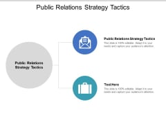 Public Relations Strategy Tactics Ppt PowerPoint Presentation Styles Design Inspiration