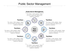 Public Sector Management Ppt PowerPoint Presentation Outline Tips Cpb
