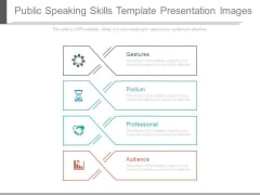 Public Speaking Skills Template Presentation Images