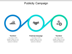 Publicity Campaign Ppt PowerPoint Presentation Show Cpb