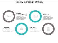 Publicity Campaign Strategy Ppt PowerPoint Presentation Summary Shapes Cpb