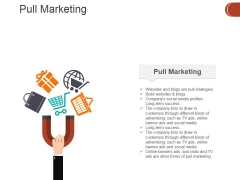 Pull Marketing Template 1 Ppt PowerPoint Presentation Icon Inspiration