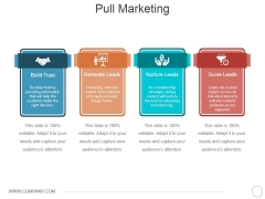 Pull Marketing Template 1 Ppt PowerPoint Presentation Styles Design Ideas