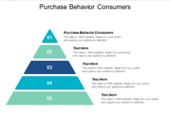 Purchase Behavior Consumers Ppt PowerPoint Presentation Infographic Template Show Cpb