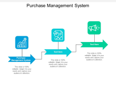 Purchase Management System Ppt PowerPoint Presentation Show Slide Cpb