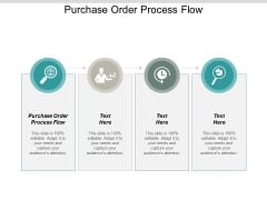 Purchase Order Process Flow Ppt PowerPoint Presentation Show Pictures Cpb