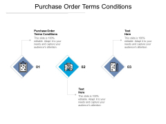 Purchase Order Terms Conditions Ppt PowerPoint Presentation Layouts Slide Cpb Pdf