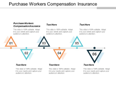 Purchase Workers Compensation Insurance Ppt PowerPoint Presentation Show Tips Cpb