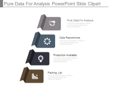 Pure Data For Analysis Powerpoint Slide Clipart