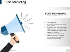Push Marketing Ppt PowerPoint Presentation Gallery Example