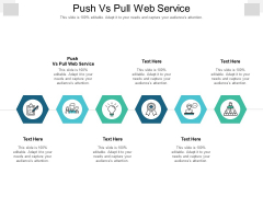 Push Vs Pull Web Service Ppt PowerPoint Presentation Pictures Ideas Cpb Pdf